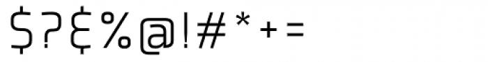 Plexes Light Font OTHER CHARS