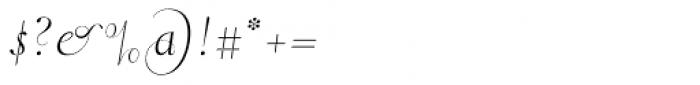 Pluma Primeyra Font OTHER CHARS