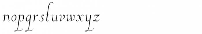 Pluma Primeyra Font LOWERCASE