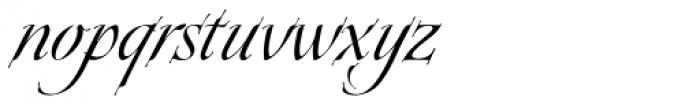 Plumage Regular Font LOWERCASE