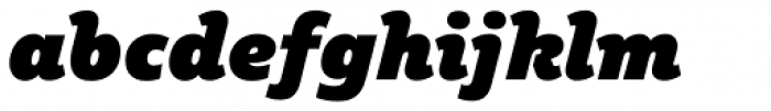 Plume Ad Italic Font LOWERCASE
