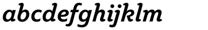 Plume Bold Italic Font LOWERCASE