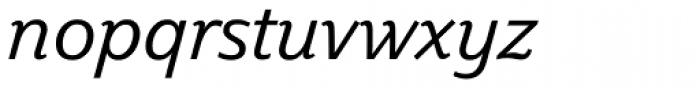 Plume Italic Font LOWERCASE