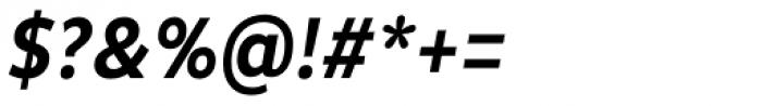 Pluto Condensed Medium Italic Font OTHER CHARS