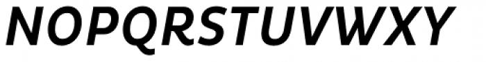 Pluto Condensed Medium Italic Font UPPERCASE