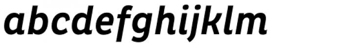 Pluto Condensed Medium Italic Font LOWERCASE