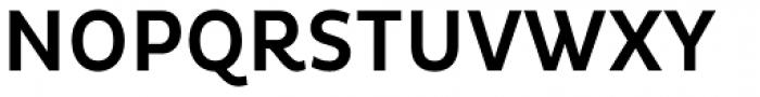 Pluto Condensed Medium Font UPPERCASE