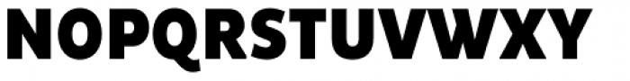 Pluto Sans Cond Black Font UPPERCASE