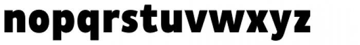 Pluto Sans Cond Black Font LOWERCASE