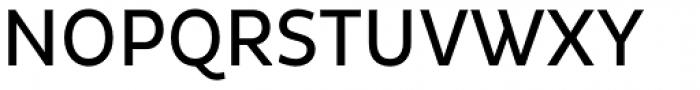 Pluto Sans Cond Regular Font UPPERCASE