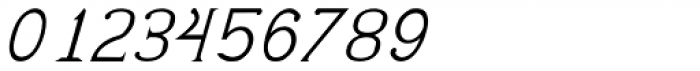 Pluton Italic Font OTHER CHARS
