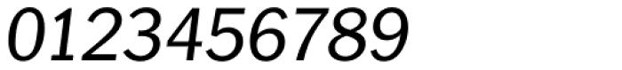 Plymouth Serial Italic Font OTHER CHARS