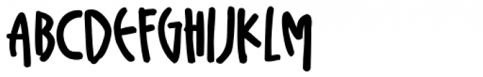 Plz Print Bold Condensed Font UPPERCASE