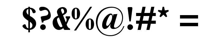 PlantinStd-BoldCondensed Font OTHER CHARS