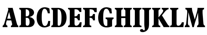 PlantinStd-BoldCondensed Font UPPERCASE