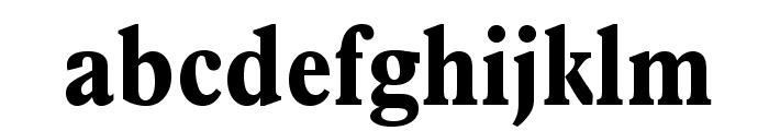 PlantinStd-BoldCondensed Font LOWERCASE