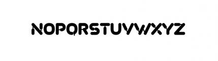 Plastek Regular Font UPPERCASE
