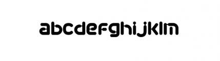 Plastek Regular Font LOWERCASE