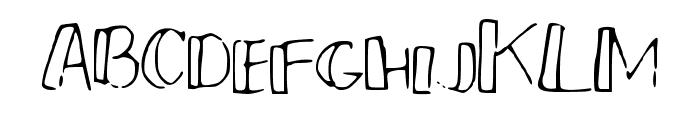 PMSmallCrew Font UPPERCASE