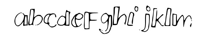 PMSmallCrew Font LOWERCASE