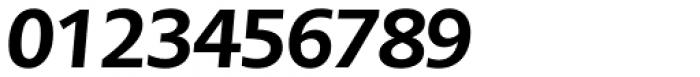 PMN Caecilia Sans Pro Head Heavy Oblique Font OTHER CHARS