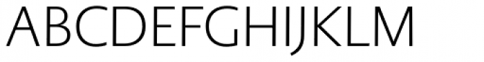 PMN Caecilia Sans Pro Head Light Font UPPERCASE