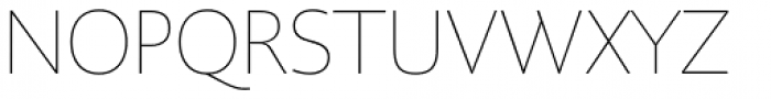 PMN Caecilia Sans Pro Head Thin Font UPPERCASE