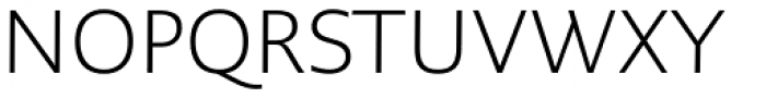 PMN Caecilia Sans Pro Text Light Font UPPERCASE