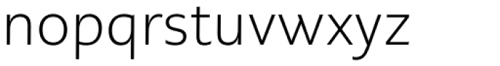PMN Caecilia Sans Pro Text Light Font LOWERCASE