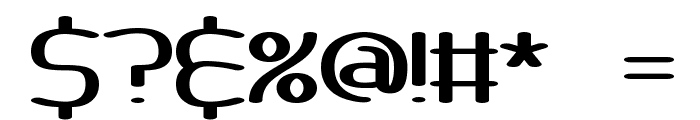 Pneumatics Wide BRK Font OTHER CHARS