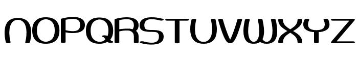 Pneumatics Wide BRK Font UPPERCASE