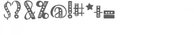 pn americana preserves Font OTHER CHARS