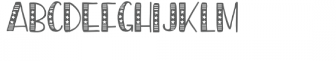 pn americana preserves Font UPPERCASE