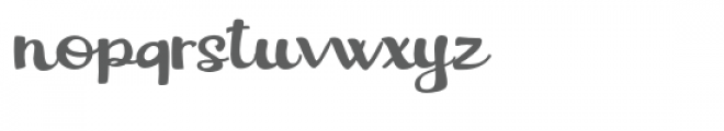 pn angelica Font LOWERCASE