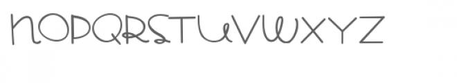 pn bread pudding script Font UPPERCASE