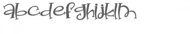 pn bud nakeyes Font LOWERCASE