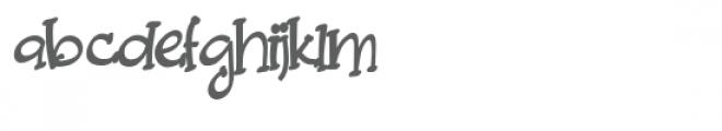 pn build me sideways Font LOWERCASE