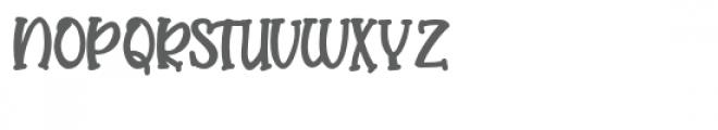 pn butterserif bold Font UPPERCASE