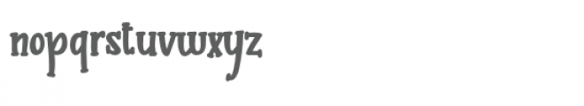 pn butterserif bold Font LOWERCASE