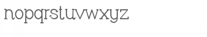 pn cliffhanger Font LOWERCASE