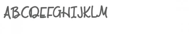 pn come along bold Font UPPERCASE