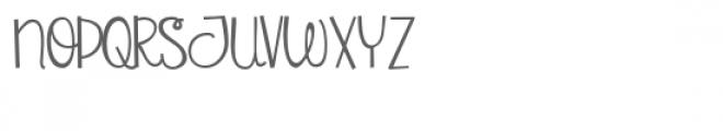 pn copyright script Font UPPERCASE