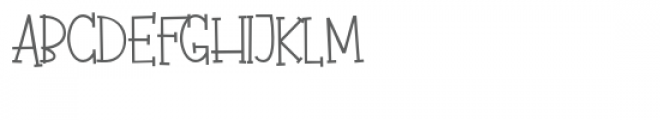 pn fudgie sticks Font UPPERCASE
