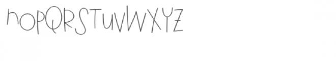 pn grumble lite Font UPPERCASE