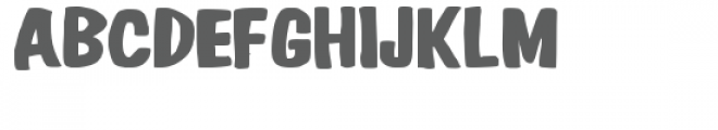 pn hiho silver snow Font LOWERCASE