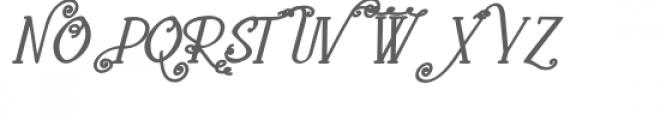 pn loquacious complete italic bold Font UPPERCASE