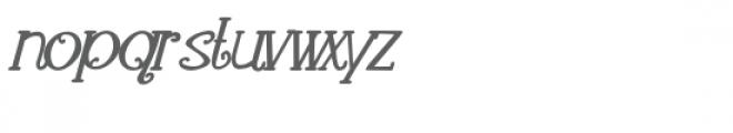 pn loquacious complete italic bold Font LOWERCASE