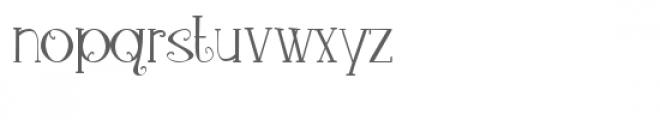 pn loquacious complete Font LOWERCASE