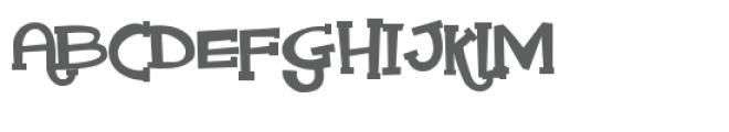 pn nickel rigatoni serif Font UPPERCASE