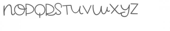 pn pawstricken Font UPPERCASE